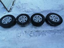 Продам колеса на Land Cruiser: Bridgestone Blizzak DM-V1 285/65 R17