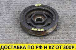 Шкив коленвала. Honda: CR-V, Civic, Stepwgn, Accord, Accord Tourer, Elysion, Odyssey Acura TSX, CU2, CW2 K24Z1, K24Z4, K24Z7, K20A, K24A, K24Z3