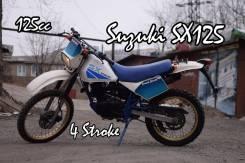 Suzuki SX200. 125куб. см., исправен, птс, без пробега
