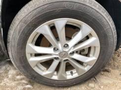 """Оригинальные штатные колеса на Nissan X-Trail без пробега. 7.0x17"""" ET45"""