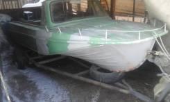 Казанка-5. 1979 год, длина 5,00м., двигатель подвесной, 40,00л.с., бензин