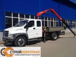 ГАЗ ГАЗон Next C42R33. ГАЗон Next Фермер с КМУ Fassi 65, 4 430куб. см., 3 000кг., 4x2