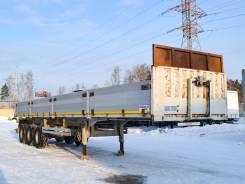 Meusburger Новтрак SK-360. Бортовой открытый полуприцеп Новтрак SK-360 2012 г/в, 38 000кг.
