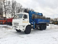 Автомобиль бортовой с КМУ SOOSAN 746L б/у (2017 г., 33300 км.,1990 м.ч.)