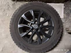 """Зимние колеса: шины 225/65R17 Nokian Nordm7 на литье 5x114,3 Mazda. 7.0x17"""" 5x114.30 ET50 ЦО 60,1мм."""
