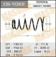 Новая пружина зад. Toyota Corolla 92- Masuma пр. Япония