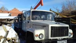 ГАЗ-33081. Бурильно-крановая машина бкм-317 на газ-33081 Егерь.