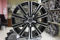 Новые диски R21 5x150 Toyota LC 200 Lexus 470,570 LX97 чёрные