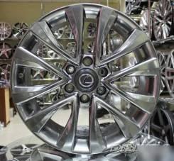 Новые диски R18 6x139.7 Toyota LC Prado 4Runner Hilux Lexus GX Графит
