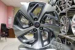 Новые диски R17 5x114.3 на Hyundai Tucson SantaFe
