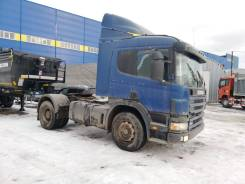 Scania P. Тягач с пробегом 2003 г. в. Scania (Скания), 8 970куб. см., 22 500кг., 4x2