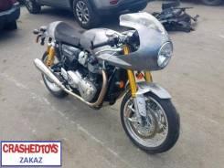 Triumph Thruxton 1200. 1 200куб. см., исправен, птс, без пробега. Под заказ