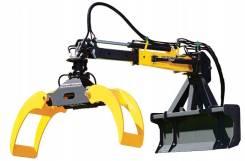Захваты для бревен Uniforest Scorpion Pro 1/2/3 навесные для тракторов