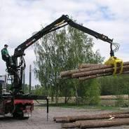 Японская грейферная установка Для погрузки леса