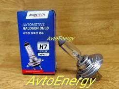 Лампа галоген Avantech H7 12V 55W Сделано в Корее ! В наличии !