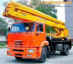 КамАЗ 43253. Подъемник ВС-22.06 на шасси Камаз 43253, 22,00м. Под заказ