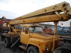 ГАЗ 53. Автовышка ВС-18-МС на шасси ГАЗ-53, 4 200куб. см., 18,00м.