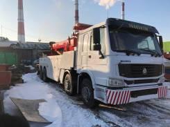 Howo. Эвакуатор частичной погрузки (грузовой эквакуатор), 11 000куб. см., 130 000кг., 8x8