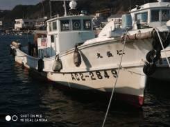 Шхуна рыбацкая 14м cо стационарным мотором Yanmar 170л. с