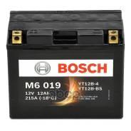 Аккумуляторная Батарея! Рус 12ah 190a 151/70/131 Yt12b-Bs Moto Bosch арт. 0 092 M60 190 0 092 M60 190_