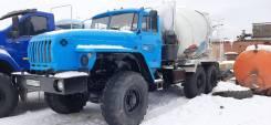 Урал 4320. Автобетоносместитель АБС 5 куб. 6х6 миксер