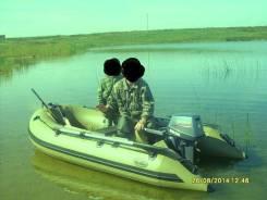 Моторная лодка Баджер