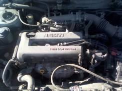 Двигатель в сборе. Nissan Bluebird, HNU14, HU14 Nissan Primera Camino, HNP11, WHNP11 Nissan Rasheen, RKNB14 SR20DE