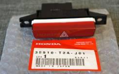 Кнопка включения аварийной сигнализации. Honda Accord, CR2, CR3, CR5, CR6, CR7 J35Y, K24W, K24W4, LFA, R20A3