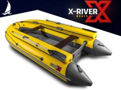 Надувная лодка X-River Grace 380 FB, грациозная и легкая, пр-во Россия