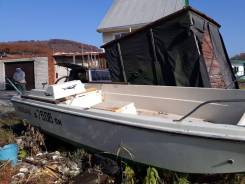 Лодка Nissan с мотором