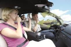 Свежий воздух салона автомобиля. Озонирование