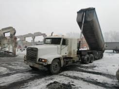 Freightliner FLD SD. Продам Сцепку + Тонар 2007г., 14 000куб. см., 6x4