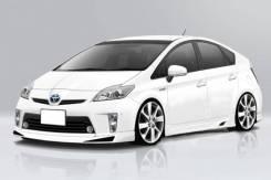"""Губа передняя """"J-Next"""" Toyota Prius 30 (2012-2015г)"""