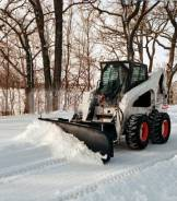 Услуги фронтального погрузчика Bobcat S205/S250/T650. Уборка снега.