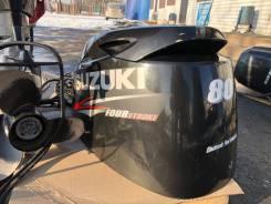 Лодочный мотор Suzuki 80 л. с. 4-x тактный с дистанцией