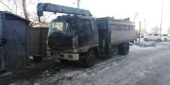 Услуги бортового грузовик с краном, борт 8 т. кран 3т