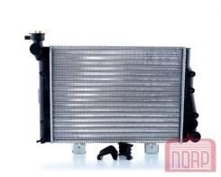 Радиатор охлаждения двигателя. Лада 2106, 2106 Лада 2103, 2103