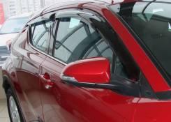 Toyota C-HR 2016 - SIM Дефлекторы окон (Ветровики)