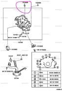 Кольцо Резиновое Toyota 2UZ