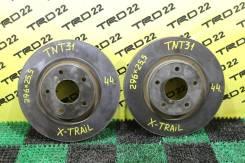 Диск тормозной передний Nissan Qashqai J10/X-Trail T31/Koleos I ПАРА!
