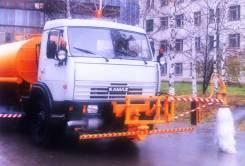 Щёточное оборудование для мойки барьерных ограждений на КДМ и МТЗ