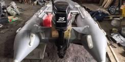Лодка ПВХ Gladiator 380 Mercury 25 JET Drive