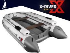 Надувная лодка X-River Grace 340 FB, грациозная и легкая, пр-во Россия