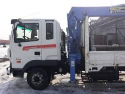 Hyundai Mega Truck. Продается кран-манипулятор Hundai Mega Truck, 6 606куб. см., 9 000кг., 6x2
