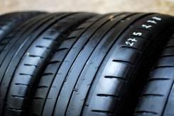 Michelin Pilot Sport 4. летние, 2016 год, б/у, износ 20%