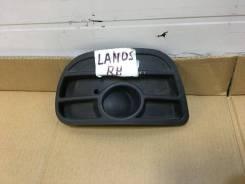 Решетка бампера передняя правая (рамка птф) Дэу Ланос Спорт