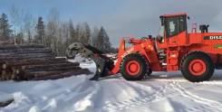 Бревнозахват для погрузчиков от 14 - 17 тонн