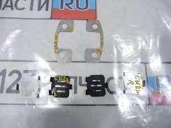 Пластины задних тормозных колодок ( КОМПЛЕКТ ) Mitsubishi Airtrek CU2W