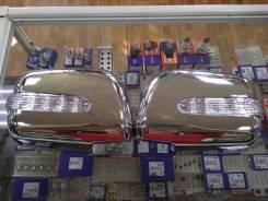 Накладки на зеркала Toyota Harrier / Lexus RX330 хромированные
