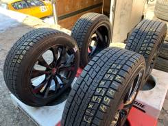 Dunlop Winter Maxx SJ8. зимние, без шипов, 2017 год, б/у, износ до 5%